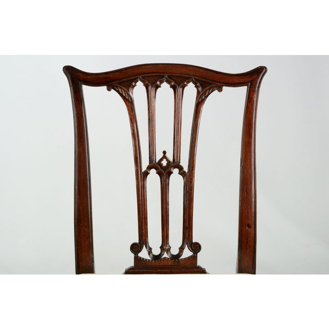 18th Century Chippendale Period Mahogany Side Chairs - a Pair - Image 5 of 10