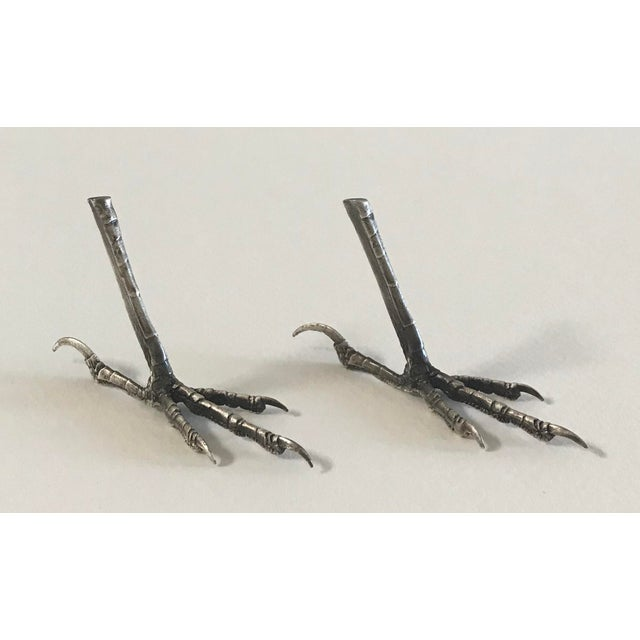Ria Charisse Bird Feet Sculptures - a Pair For Sale In San Francisco - Image 6 of 8