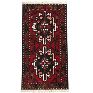 Traditional Tribal Hand Knotted Rug- 2′10″ × 5′4″ For Sale