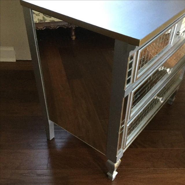 Mirrored 3-Drawer Accent Dresser - Image 4 of 6