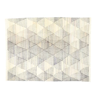 Contemporary Handwoven Turkish Kilim Rug - 10'00 X 12'09 For Sale