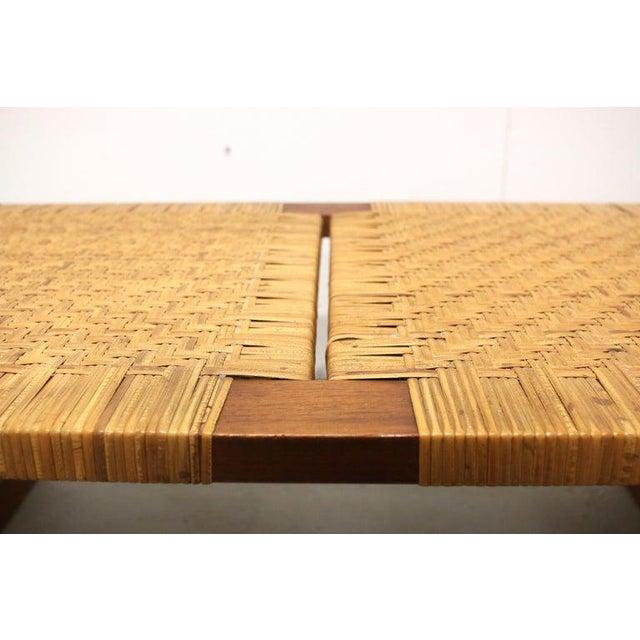 Rare Borge Mogensen Bench, Made by Erhard Rasmussen, Denmark, 1950s For Sale - Image 9 of 13