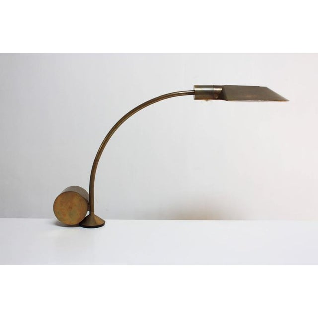 Cedric Hartman Counterweighted Brass Table Lamp - Image 2 of 10
