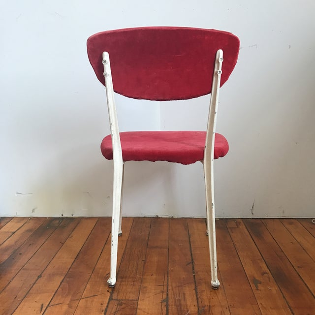 Red Earnest Race Chair For Sale In Providence - Image 6 of 8