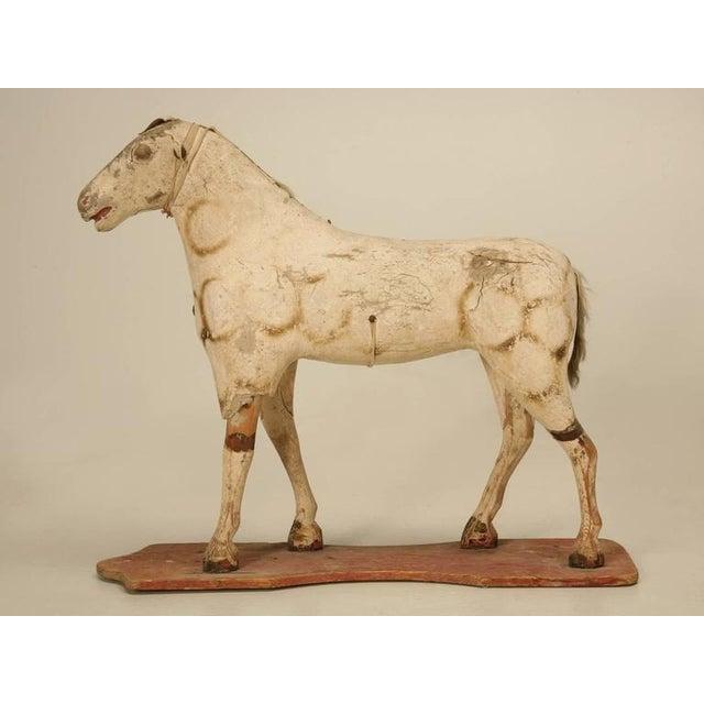 Antique Child's Papier Mâché Horse - Image 2 of 10