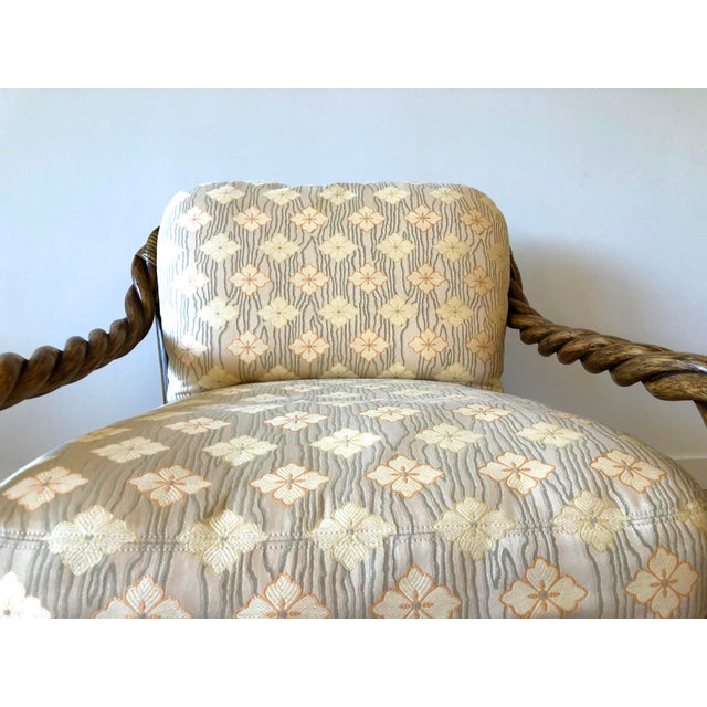 McGuire Vintage McGuire Braided Rattan Chair For Sale - Image 4 of 13