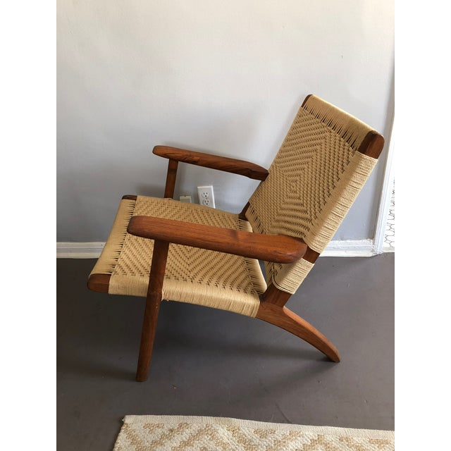 hans wegner ch25 mid century modern reproduction easy chairs set of
