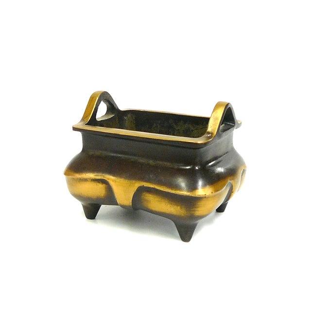 Chinese Bronze Metal Incense Burner - Image 5 of 7