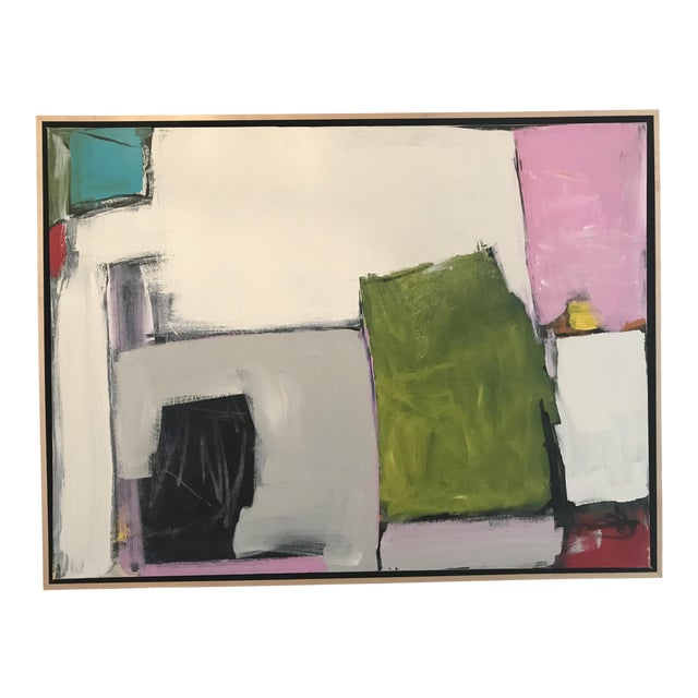 Spring Street Contemporary Abstract Painting For Sale