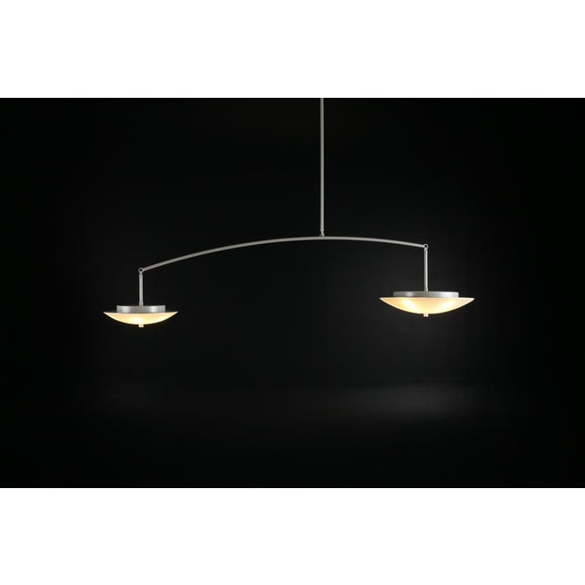 Contemporary Christopher Objects Draftsman No.3 Cantilever Pendant Light by Topher Gent For Sale - Image 10 of 13