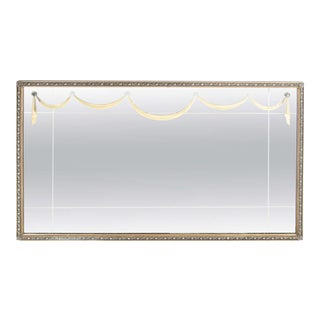 Glamorous 1940's Gilt Mirror with Lucite Appliqués By Grosfeld House For Sale