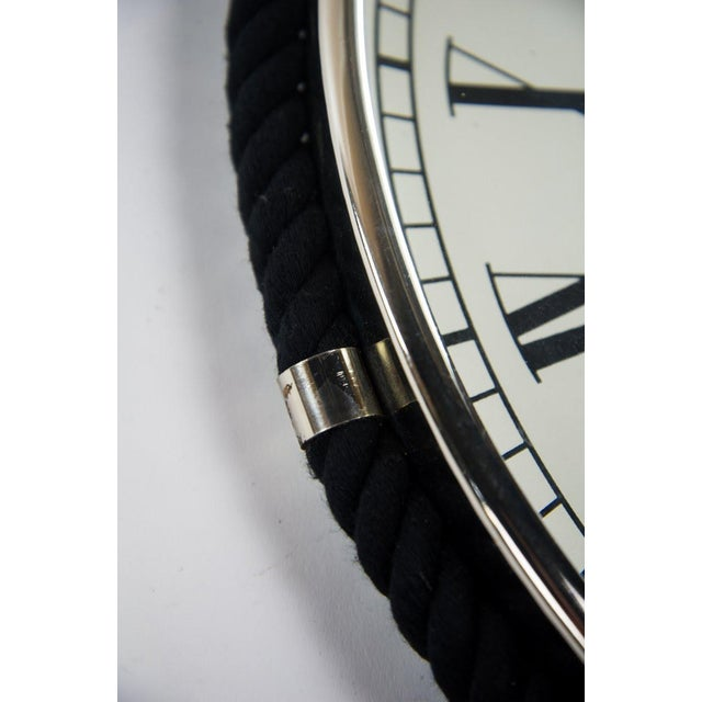 Oval Colmore Wellington Wall Clock For Sale - Image 4 of 7
