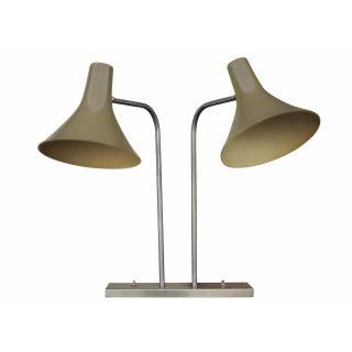 Walter Von Nessen Dual Desk Lamp For Sale