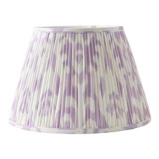 "Soft Ikat in Lavender 14"" Lamp Shade, Lavender For Sale"