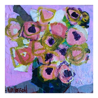 Acrylic on Canvas Spring Pink by Kim Hassold