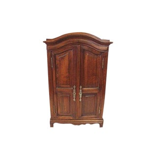 1900s Vintage Miniature French Louis XV Style Armoire For Sale