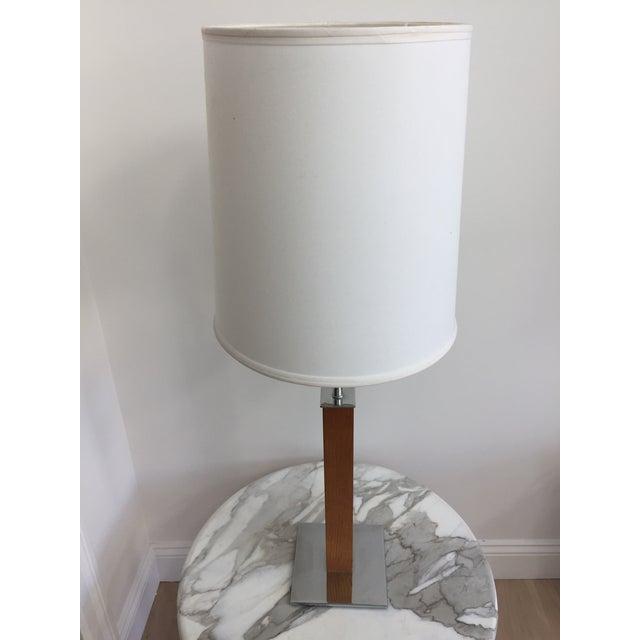Metal Walter Von Nessen Minimalist Table Lamp For Sale - Image 7 of 10