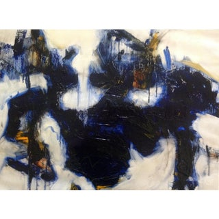 Contextual Embedding Oil & Charcoal Painting