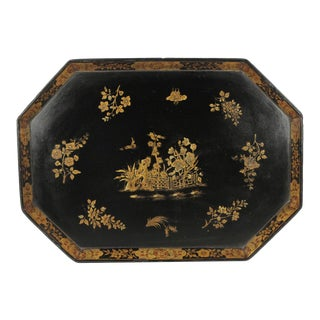 Late 19th Century Chinoiserie Dyson and Benson London Tray
