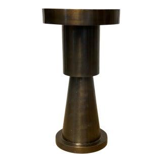 Contemporary Cast Bronze Pillar For Sale