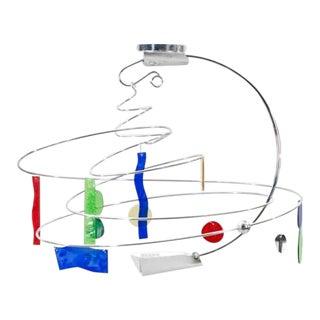 1990s Artemide Melissa Modern Chandelier For Sale