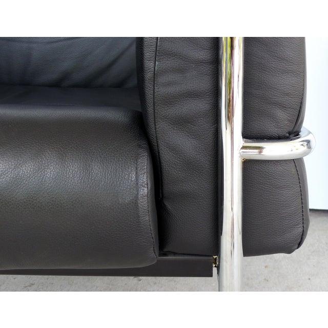 Fantastic Kebe Of Denmark Leather Chrome Club Chair Theyellowbook Wood Chair Design Ideas Theyellowbookinfo
