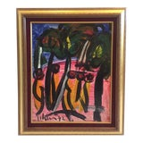 Image of Peter Keil Painting 1972 For Sale