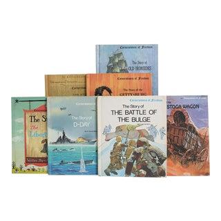 Children's Vintage History Books: Cornerstones of Freedom - Set of 15