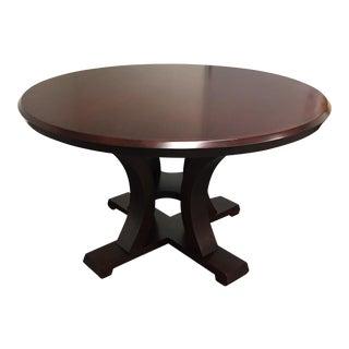 Custom Lana Round Maple Table