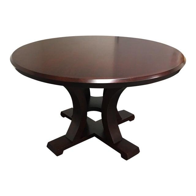 Custom Lana Round Maple Table For Sale