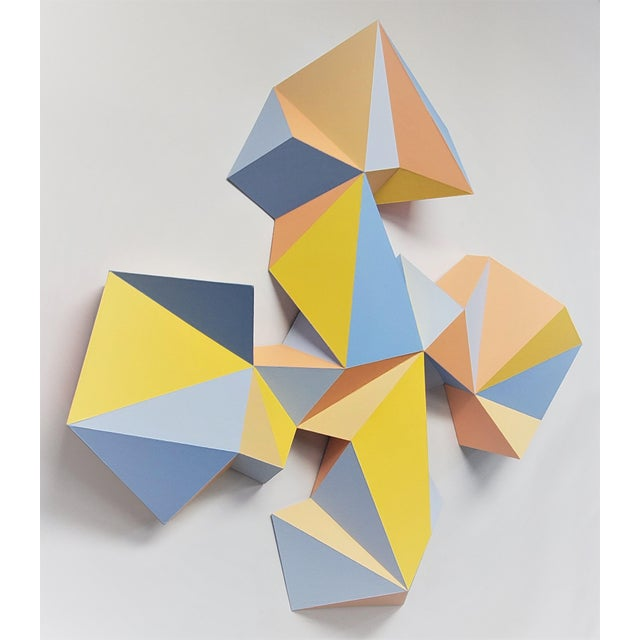 """Paper Sassoon Kosian """"Crossroads"""" Wall Sculpture For Sale - Image 7 of 9"""