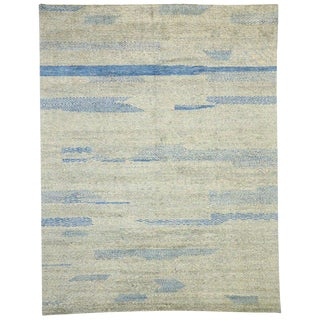 Contemporary Moroccan Inspired Rug - 10′4″ × 13′3″ For Sale
