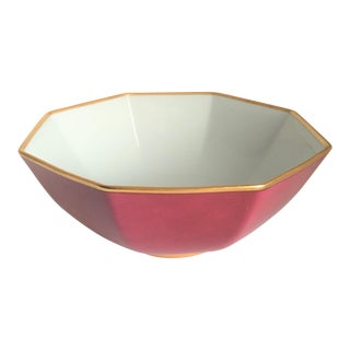 Fitz & Floyd Renaissance Magenta Serving Bowl For Sale