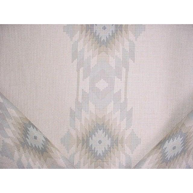 2010s Southwestern Andrew Martin Cruz Desert Southwest Printed Ikat Upholstery Fabric - 4-7/8y For Sale - Image 5 of 5