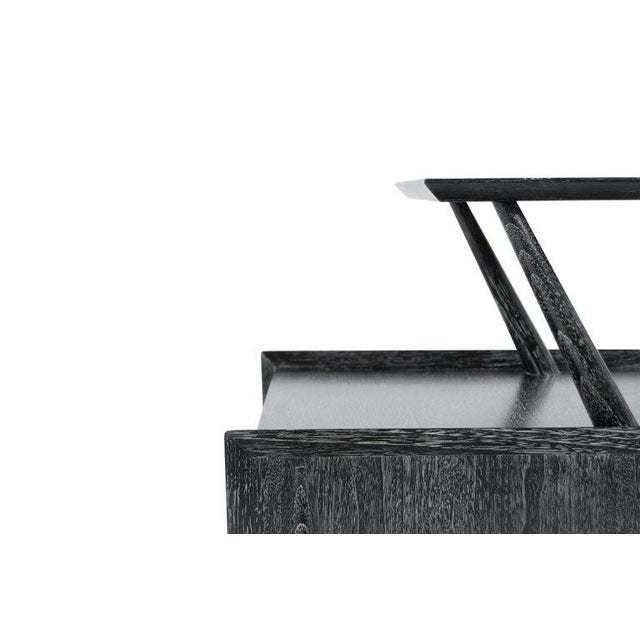 Black Kent Coffey Cerused Walnut End Tables For Sale - Image 8 of 10