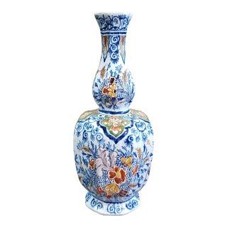 1764-1773 Delft Double Gourd Vase by Johannes Van Duijn For Sale