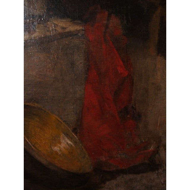 Canvas 20th Century Still Life Painting by Georges Ernest Saulo For Sale - Image 7 of 8