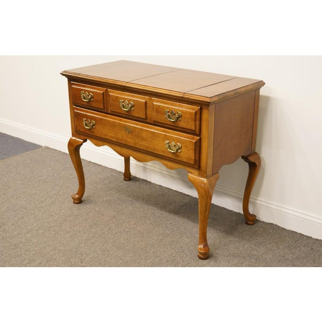 """Dixie Cherry Court Collection 40"""" Flip-Top Server Buffet 120-862 This piece has some sun fading; see pictures. 32"""" High..."""