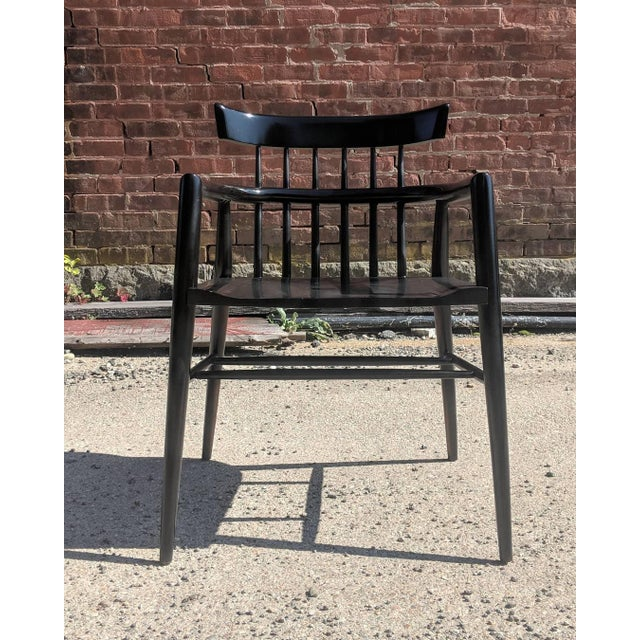 Mid-Century Modern Modernist Comb Back Windsor Chair by Paul McCobb For Sale - Image 3 of 10