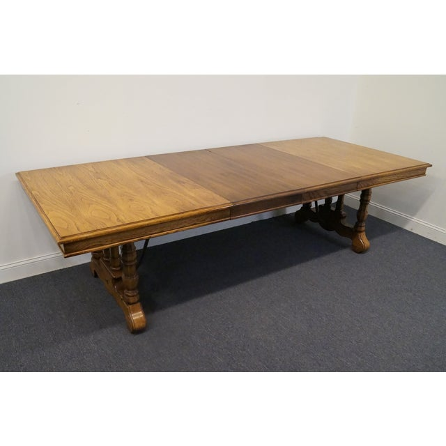 20th Century Spanish Revival Thomasville Segovia Dining Table For Sale In Kansas City - Image 6 of 11