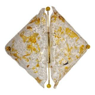 1970s Mazzega Murano Ceiling Light For Sale
