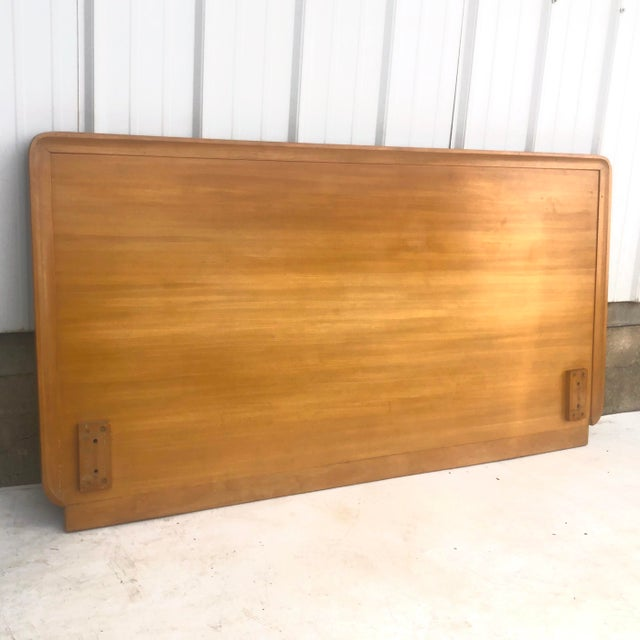 Mid-Century Modern Mid-Century Full Size Headboard by Edward Wormley for Drexel For Sale - Image 3 of 12