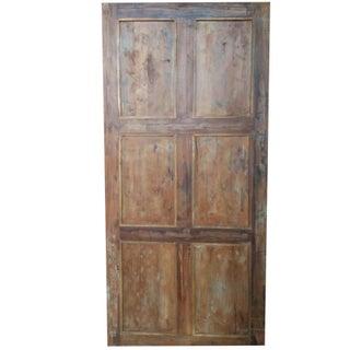 Indian Antique Hand Carved Teak Wood Door Panel Preview