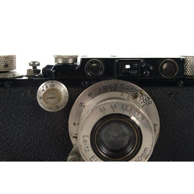 1930s Leica III Black Camera With 5cm Elmar Lens - Image 4 of 10