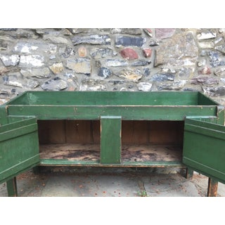 Antique Green Dry Sink Preview