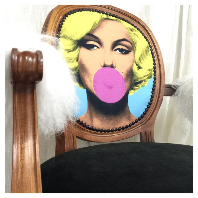 Marilyn Monroe Chair For Sale In Los Angeles - Image 6 of 6
