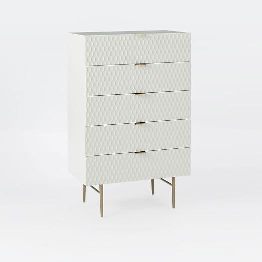West Elm Audrey 5-Drawer Dresser For Sale - Image 10 of 10
