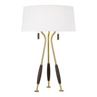 Arbur Table Lamp Burnished Brass For Sale