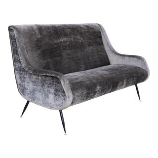 Marco Zanuso Style Italian Sofa For Sale