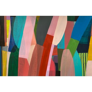 """""""Reach #4"""" Contemporary Abstract Acrylic Painting by Poppy Dodge For Sale"""